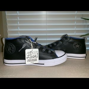Kids Leather Converse All-Star sz 3.5 New with Tag
